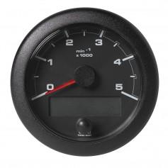 VDO 3-3-8- -85mm- OceanLink NMEA 2000 Tach - 5000 RPM - Black Dial Bezel