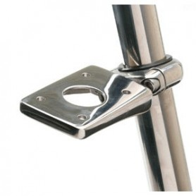 Edson 3- Stainless Clamp-On Accessory Mount