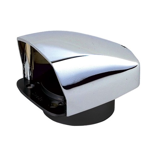 Perko Cowl Ventilator - 3- Chrome Plated Zinc Alloy