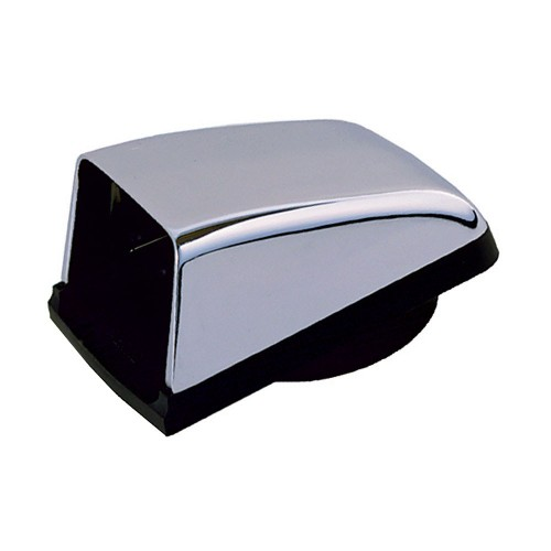 Perko Chromalex Cowl Vent - 3- Duct - Chrome Plated Zinc