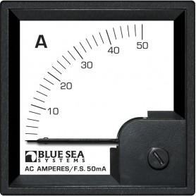 Blue Sea 1058 AC DIN Ammeter - 0 to 50A w-Coil