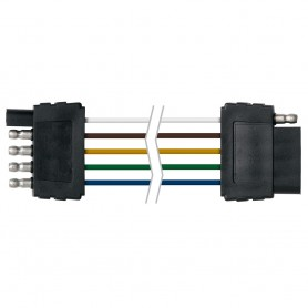 Ancor Trailer Connector-Flat 5-Wire 48- Loop