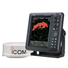 Icom MR-1010RII Marine Radar - 4kW - 10-4- Color Display