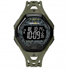 Timex IRONMAN Sleek 30 Full Resin Strap Watch - Green