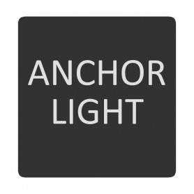 Blue Sea 6520-0035 Square Format Anchor Light Label