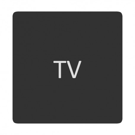 Blue Sea 6520-0423 Square Format TV Label