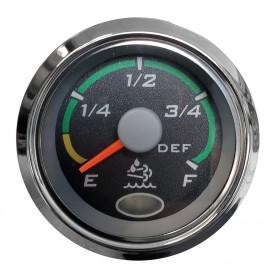 Faria 2- Euro Black Fuel Level Gauge