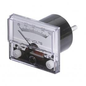 Paneltronics Analog DC Ammeter 0-50DCA 2-1-2- - No Shunt Required