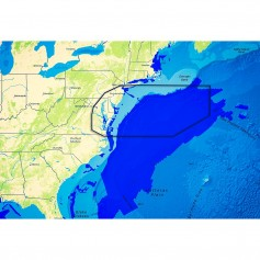 C-MAP Reveal - US Atlantic - Rhode Island to Virginia- Block Island RI to Norfolk VA