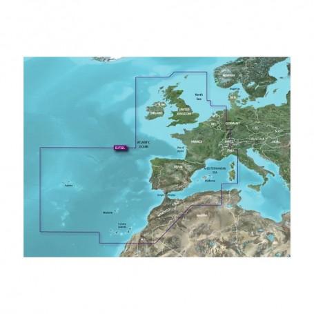 Garmin VEU722L Europe Atlantic Coast BlueChart g3 Vision