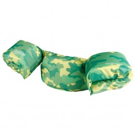 Puddle Jumper Kids Deluxe Life Jacket - Green Camo - 30-50lbs