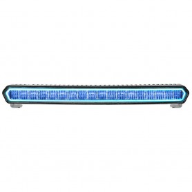 RIGID Industries SR-L Series 20- Off-Road LED Light Bar - Black w-Blue Halo Back Lighting