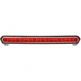 RIGID Industries SR-L Series 20- Off-Road LED Light Bar - Black w-Red Halo Back Lighting