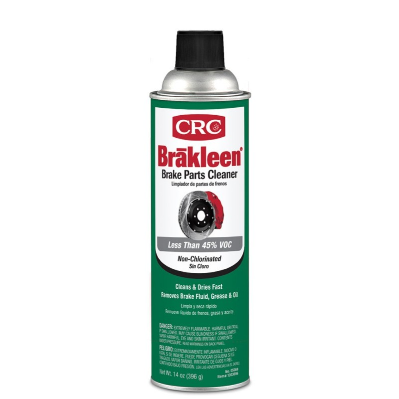 CRC Brakleen Brake Parts Cleaner - Non-Chlorinated - 14oz -Case of 12