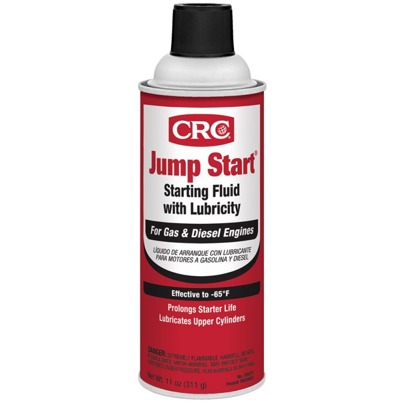 CRC Jump Start Starting Fluid w-Lubricity - 11oz -Case of 12