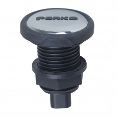 Perko Mini Mount Plug-In Type Base - 2 Pin - Chrome Plated Insert