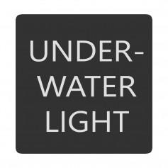Blue Sea 6520-0535 Square Format Underwater Light Label