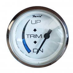 Faria 2- Chesapeake White Trim Gauge f-Honda Engines