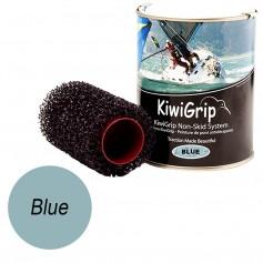 KiwiGrip 1 Liter Can - Blue w-4- Roller