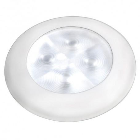 Hella Marine Courtesy Light - Warm White w-White Rim