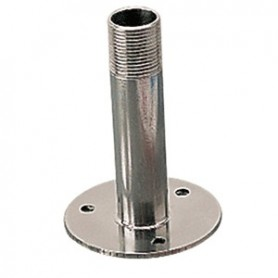 Sea-Dog Fixed Antenna Base 4-1-4- Size w-1--14 Thread Formed 304 Stainless Steel