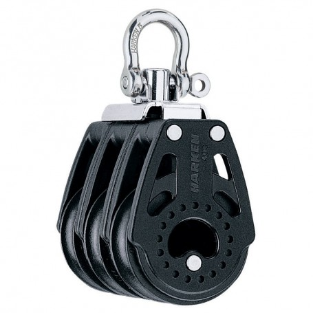 Harken 40mm Carbo Air Triple Swivel Block