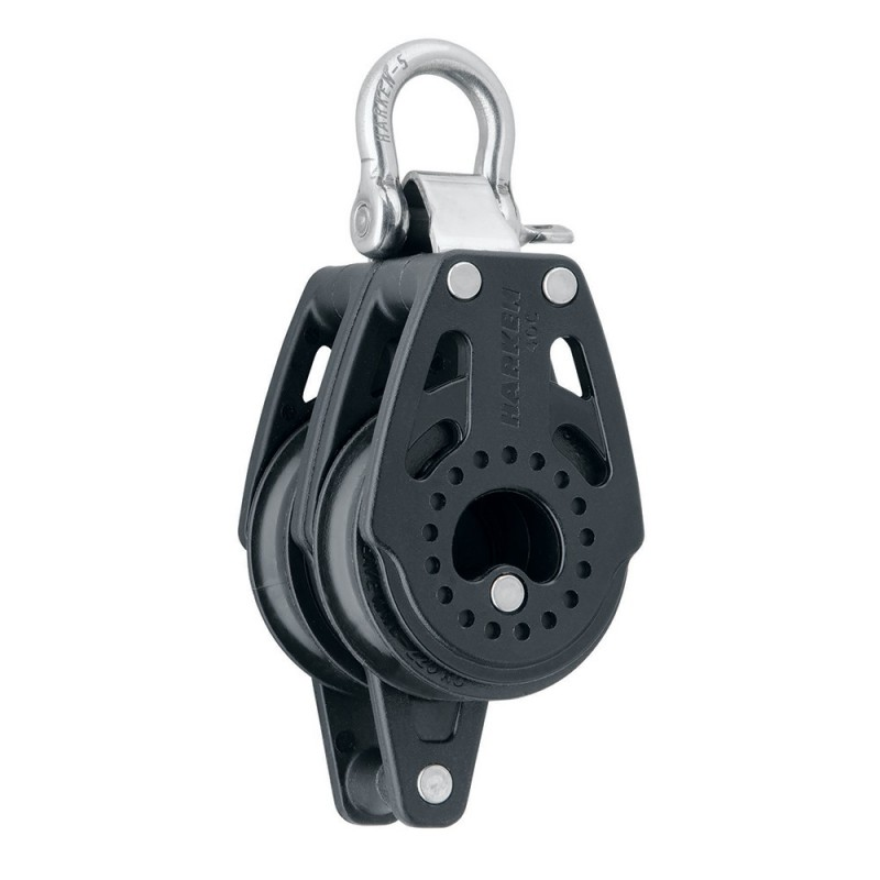 Harken 40mm Carbo Air Double Fixed Block w-Becket