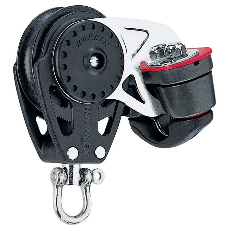 Harken 40mm Carbo Air Block w-Cam Cleat