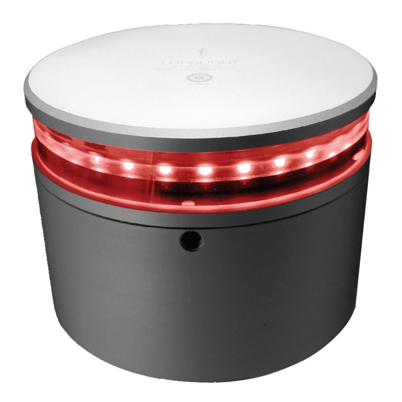 Lopolight 360 Double Red Anchor Light 3nm - Aluminum Base