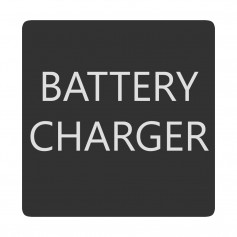 Blue Sea 6520-0050 Square Format Battery Charger Label