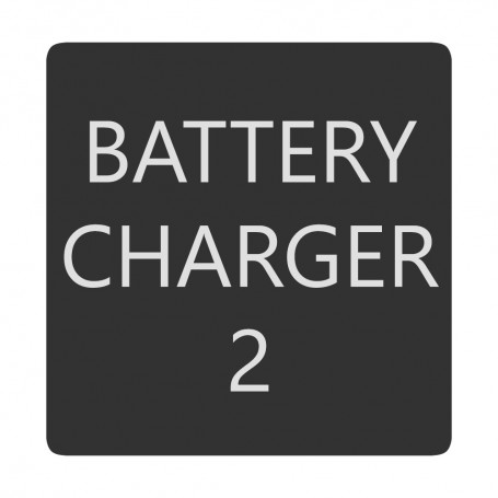 Blue Sea 6520-0051 Square Format Battery Charger 2 Label
