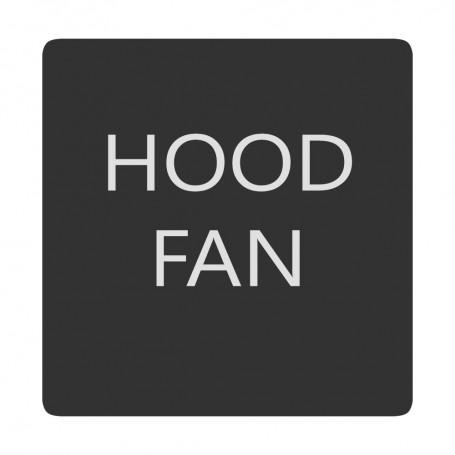 Blue Sea 6520-0268 Square Format Hood Fan Label