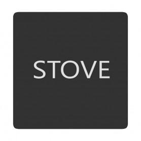 Blue Sea 6520-0406 Square Format Stove Label