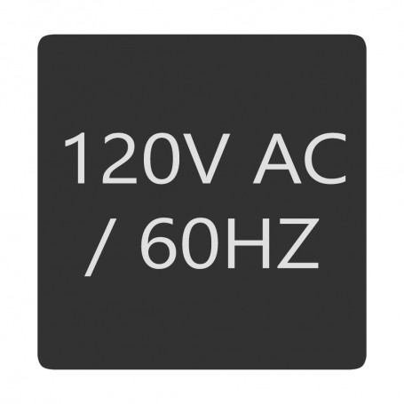 Blue Sea 6520-0007 Square Format 120V AC - 60HZ Label