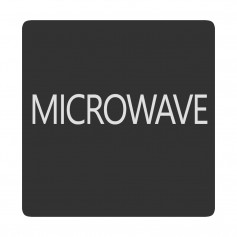Blue Sea 6520-0318 Square Format Microwave Label