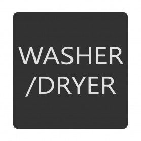 Blue Sea 6520-0436 Square Format Washer - Dryer Label