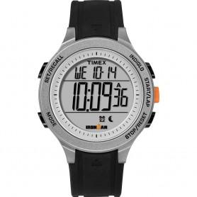 Timex IRONMAN Essential 30-Lap Unisex Watch - Black-Grey-Orange