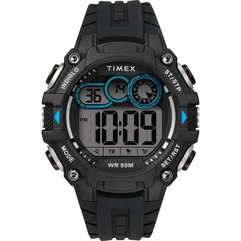 Timex Mens Big Digit DGTL 48mm Watch - Grey-Black