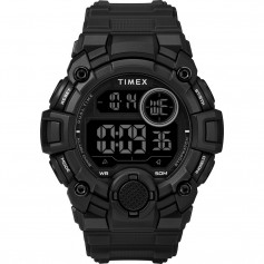 Timex Mens A-Game DGTL 50mm Watch - Black