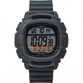 Timex DGTL BST-47 Boost Shock Watch - Grey-Orange