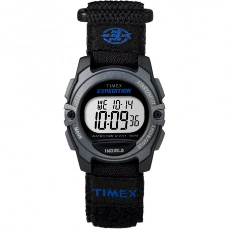 Timex Expedition Digital Core Fast Strap - Black-Blue