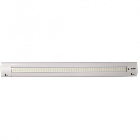 Lunasea 12- Adjustable Angle LED Light Bar - w-Push Button Switch - 12VDC - Warm White