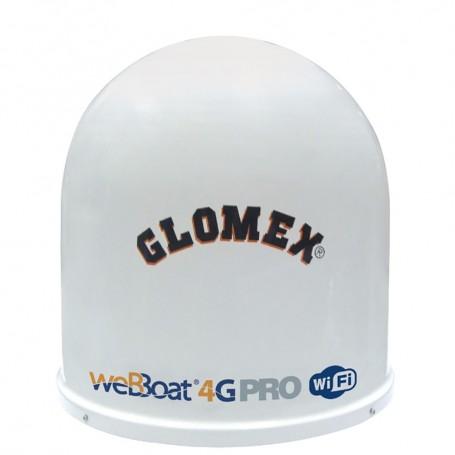 Glomex weBBoat PRO -3G-4G-Wi-Fi Coastal Internet Antenna System w-Dual SIM- Commercial Grade