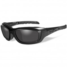 Wiley X Gravity Sunglasses - Smoke Grey Lens - Matte Black Frame w-Rx Rim