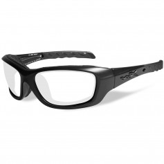 Wiley X Gravity Sunglasses - Clear Lens - Matte Black Frame