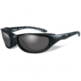 Wiley X Airrage Black Ops Sunglasses - Smoke Grey Lens - Matte Black Frame