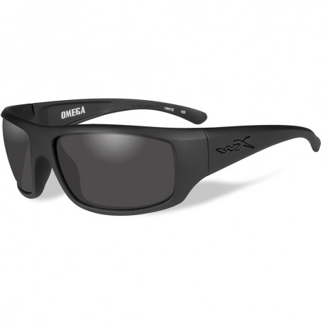 Wiley X Omega Sunglasses - Smoke Grey Lens - Matte Black Frame