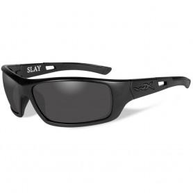 Wiley X Slay Black Ops Sunglasses - Smoke Grey Lens - Matte Black Frame