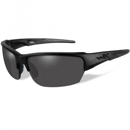 Wiley X Saint Sunglasses - Smoke Grey Lens - Matte Black Frame - Black Ops