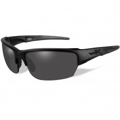 Wiley X Saint Sunglasses - Smoke Grey Lens - Matte Black Frame - Black Ops